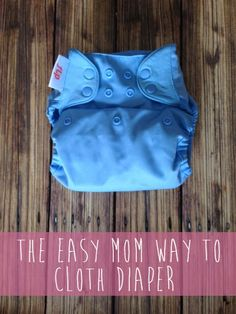 Occupation Housewife: The Easy Mom Way to Cloth Diaper