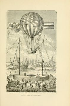from wonderful balloon ascents or the conquest of the skies a history of balloons