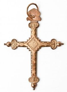 Jeanette cross, the most popular French cross