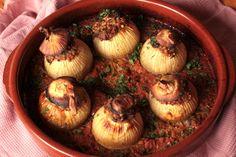 Nahual: Cebollas rellenas de trigo sarraceno
