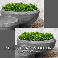 Giulia Planter XX Large Cast Stone Bowl | Kinsey Garden Decor