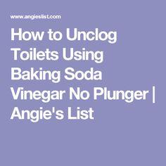 die besten 25 how to unclog toilet ideen auf pinterest gebeizt hartwasser entferner und. Black Bedroom Furniture Sets. Home Design Ideas
