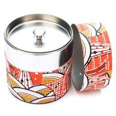 Wagashi Tea Canister