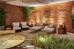 Lounge Resort por Alessandra Gusmão em Casa Cor Brasília 2015