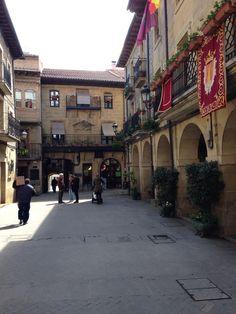 Ayuntamiento y casa de Carlos V