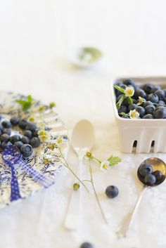 # Baking with Blueberries and Mascarpone... #inspiration  #food photography | Au Petit Goût
