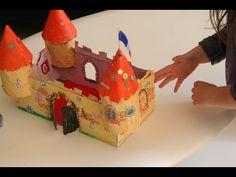 Château en carton | Bricolage enfant 6- 11 ans
