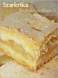 Polish Desserts, Cookie Desserts, Cookie Recipes, Dessert Recipes, Apple Recipes, Sweet Recipes, Baking Recipes, Kolaci I Torte, Gateaux Cake