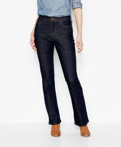 512™ Perfectly Slimming Boot Cut Jeans - Black - Levi's - levi.com