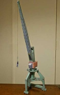 Gantry Crane Free Paper Model Download…