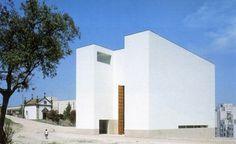 Church, Portugal, by Alvaro Siza - Exterior