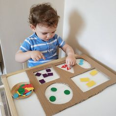 Diy Babyspielzeug lernen - RetroModa, You are in the right place about Montessori Materials printables Here we offer you the most beautiful pictures about the ho Preschool Learning Activities, Infant Activities, Preschool Activities, Diy Educational Toys For Toddlers, Diy Learning Toys, Learning Shapes, Toddler Play, Toddler Crafts, Best Baby Toys