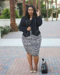 A busy geometric pattern looks fantastic when balanced with basic outerwear and accessories. If you ... - Nicole Simone