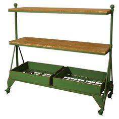 This would make a cool bar cart!