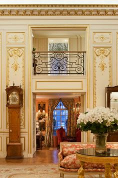 There's a two-story Versailles-inspired gallery. Joan Rivers NYC apt.