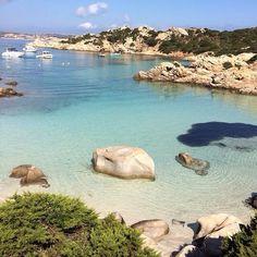spiaggia di Cala Napoletana (Caprera), La Maddalena, Italy -...