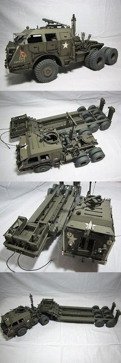 Land 2589: 1:25 Scale The M25 Tank Transporter Dragon Wagon Diy Handcraft Paper Model Kit -> BUY IT NOW ONLY: $39.99 on eBay!