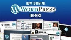 In this tutorial we will provide you with detailed instructions on how to install and activate themes in your WordPress site.