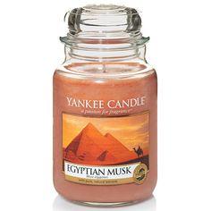 Yankee Candle Egyptian Musk 623g | Yankee Candle & Candle-Lite Duftkerzen