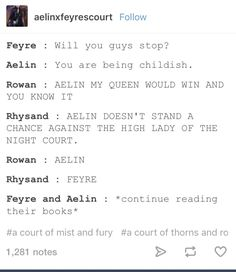 Aelin, Rowan, Feyre and Rhys...but let's be real, Aelin would win
