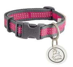 OllyDog MTN Reflective Collar Small GreyRaspberry ** To view further for this item, visit the image link.(This is an Amazon affiliate link and I receive a commission for the sales)