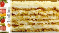 Tortas be orkaites, forma naudoti mazdaug trupineliu galima kept normos kremo kiekiui, stengdint apie 12 val. White Cakes, Russian Recipes, No Bake Desserts, Vanilla Cake, Cake Recipes, Food And Drink, Sweets, Bread, Homemade