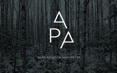 Visuel identitet til Alex Poulsen Arkitekter   re-public