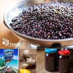 Kuchařka ze Svatojánu: BEZINKOVÝ SIRUP Marmelade Recipe, Lemonade, Pickles, Acai Bowl, Smoothies, Benefit, Herbalism, Cereal, Food And Drink