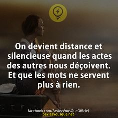 Saviez Vous Que? | Page 8 of 920 | Tous les jours, découvrez de nouvelles infos pour briller en société ! French Words, French Quotes, Favorite Quotes, Best Quotes, Life Quotes, My Mood, Good Thoughts, Positive Attitude, Thoughts