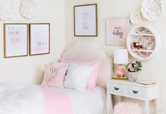 195 Best Girls\' Bedroom Decor images in 2019 | Bedroom girls ...