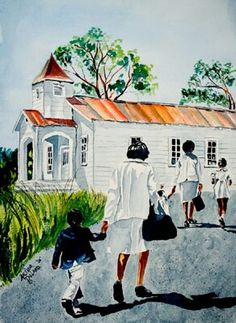 12 Pieces of African American Church Art We Love - Black Southern Belle African American Artwork, African Art, American Artists, African Women, Black Church, Caribbean Art, Black Artwork, Afro Art, My Black Is Beautiful