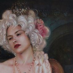 Check out this gorgeous shot of Alexandra Manukyan's work in progress for the 'Les Petit Fours' group exhibition in Sydney, this October - WOW the detail in this painting is incredible already!! beautiful.bizarre co-curated exhibition 'Les Petit Fours' at Friends of Leon Gallery Sydney in Surry Hills | 22 Oct - 8 Nov 2015 | Email Gallery Director, Leon Krasenstein to get on the preview list ~ leon@friendsofleon.com