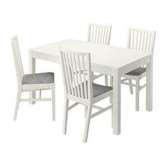 IKEA - BJURSTA / NORRNÄS, Taula amb 4 cadires