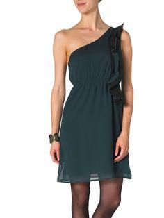 WILMA ONESHOULDER SHORT DRESS