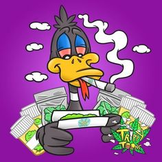 Rollin up 1000 jays for my Trippy Cartoon, Cartoon Smoke, Dope Cartoon Art, Cartoon Kunst, Cartoon Cartoon, Arte Dope, Dope Art, Trippy Drawings, Art Drawings
