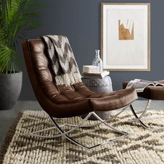 Wms. Sonoma Chair, Love This!! Iu0027d Want The Chrome To