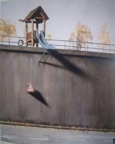 scary playground slide