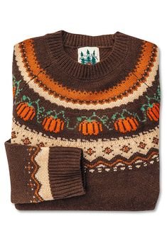 🌟Tante S!fr@ loves this📌🌟The Cozy Pumpkin Sweater – Kiel James Patrick Fall Outfits, Cute Outfits, Autumn Aesthetic, Mode Style, Sweaters For Women, Women's Sweaters, Vintage Sweaters, Autumn Fashion, James Patrick
