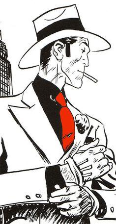 Luca Torelli. Alias Torpedo. Un cómic genial. Me encanta. Dibujos de Jordi Bernet y guión de Sánchez Abuli