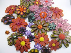 Debbie Crothers | Flower Garden | Flowers galore, have had fun playing around with these new designs.