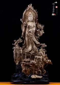 Buddha Sculpture, Sculpture Art, Guanyin, Interesting Stuff, Buddhism, Altar, Reflection, Statue, Antiques