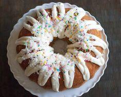 Coconut Cream Cake with Cream Cheese Icing
