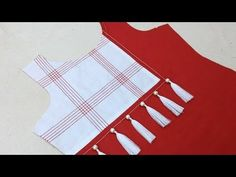 beautiful and creative neck design (easy method) cutting and stitching – dressideas Chudidhar Neck Designs, Salwar Neck Designs, Kurta Neck Design, Neck Designs For Suits, Neckline Designs, Blouse Neck Designs, Kurta Designs, Sleeve Designs, Latest Kurti Designs