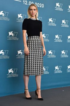 All the Best Fashion From the 2020 Venice Film Festival   Vogue Stacy Martin, Regina King, Tilda Swinton, Cate Blanchett, Miu Miu, Vanessa Kirby, Ladies Who Lunch, Cool Style, Sequins