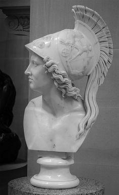 statuesque Bust in Chatsworth House Greek Goddess Art, Greek Art, Greek Gods, Roman Sculpture, Sculpture Art, Athena Costume, Chatsworth House, Famous Art, Classical Art
