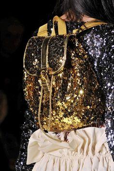 Golden Backpack Vivienne Westwood Fall Winter 2011