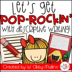 Teaching students about descriptive writing has never been so much fun! This series of lessons will guide you through a week-long unit about descriptive writing.  Kids in kindergarten, first grade, second grade, and even third grade will love this fun and