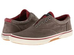 Sperry Top-Sider Halyard Laceless CVO Brown/Red - 6pm.com