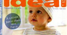 Revista Ideal Bebê Receitas Completas EmTricô De 0 á 4 Anos ...