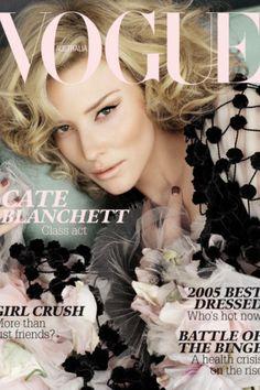 Cate Blanchett     Vogue Australia January 2006 Cover
